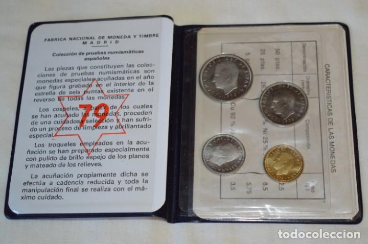 Monedas Juan Carlos I: LOTE DE 6 CARPETAS DE PRUEBAS NUMISMÁTICA, todas diferentes ¡Mira fotos y detalles! - Foto 6 - 193912781