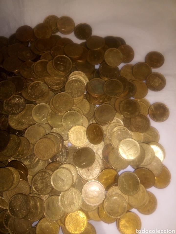 Monedas Juan Carlos I: 565 monedas de peseta del Rey Juan Carlos sin clasificar - Foto 3 - 193955286