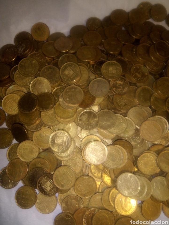 Monedas Juan Carlos I: 565 monedas de peseta del Rey Juan Carlos sin clasificar - Foto 4 - 193955286