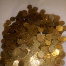 Monedas Juan Carlos I: 565 MONEDAS DE PESETA DEL REY JUAN CARLOS SIN CLASIFICAR. Lote 193955286