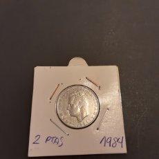 Monedas Juan Carlos I: MONEDA 2 PESETAS 1984 JUAN CARLOS I S/C SACADA DE CARTUCHO ESPAÑA. Lote 227073175