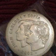 Monedas Juan Carlos I: MONEDA PLATA 12€. AÑO 2002. PRESIDENCIA ESPAÑA UE.. Lote 194249921