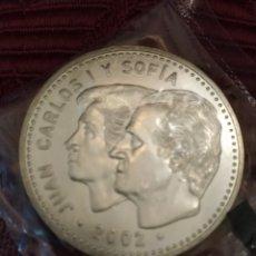 Monedas Juan Carlos I: MONEDA PLATA 12€. AÑO 2002. PRESIDENCIA ESPAÑA UE.. Lote 194250126
