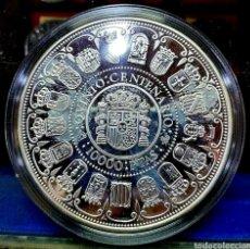 Monedas Juan Carlos I: ESPAÑA/ CONMENORACION 5°CENTENARIO/ 10.000 PESETA 1989/ SERIE I / 168,75 GRAMOS/ 73 MM/ FLOR DE CUÑO. Lote 194254298