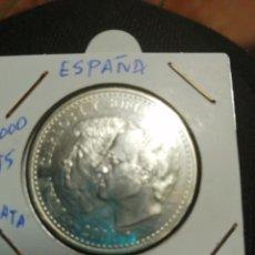 Monedas Juan Carlos I: MONEDA PLATA 2000 PTS, ÚLTIMA EMISIÓN DE LA PESETA, 2001 . Lote 194516160