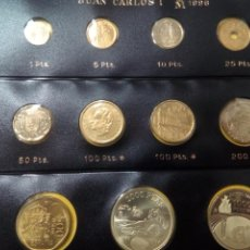 Monedas Juan Carlos I: SERIE DE MONEDAS SC DE 1996 + 2000 PESETAS DE PLATA + 1000 PESETAS DE PLATA ATLANTA 96. Lote 194516942