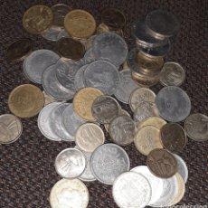 Monedas Juan Carlos I: LOTE DE 57 MONEDAS.. Lote 194733106