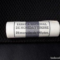 Monedas Juan Carlos I: CARTUCHO FNMT 25 MONEDAS DE 100 PESETAS 1985 JUAN CARLOS I.SIN CIRCULAR. Lote 194878367