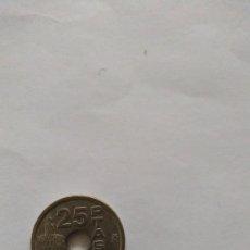 Monedas Juan Carlos I: MONEDA 25 PESETAS AGUJERO EXPO '92. Lote 195052318