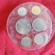 Monedas Juan Carlos I: JUEGO COMPLETO DE LAS 6 MONEDAS DEL MUNDIAL 82 DE FUTBOL. Lote 195055483