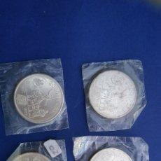Monedas Juan Carlos I: 4 MONEDAS DE 2000 PTA. JUAN CARLOS I , 1997 , QUIJOTE, SUELTAS A 20€. Lote 195090345