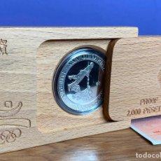 Monedas Juan Carlos I: MONEDA PLATA 4ª SERIE AÑO 1992 SOGATIRA 2000 PESETAS CONMEMORATIVA JUEGOS OLIMPICOS BARCELONA. Lote 195150027