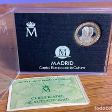 Monedas Juan Carlos I: MONEDA PLATA 200 PESETAS MADRID 1992 CAPITAL EUROPEA DE LA CULTURA. Lote 195150603