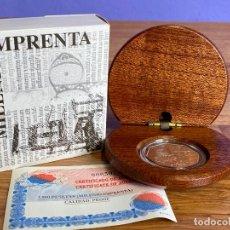 Monedas Juan Carlos I: 1500 PESETAS 2000 JUAN CARLOS I. MILENIO IMPRENTA (EXAGONAL) PLATA. . Lote 195182052