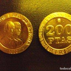 Monedas Juan Carlos I: MONEDA DE 200 DOSCIENTAS PESETAS DEL AÑO 2000 SIN CIRCULAR. DE BOLSA.. Lote 278699933