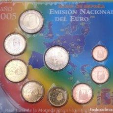 Monedas Juan Carlos I: EUROS 2005 EN EURO SET CON DON QUIXOTE ESPAÑA. Lote 195261678