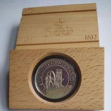 Monedas Juan Carlos I: SERIE IV PLATA AÑO 1992 – 5000 PESETAS –V CENTENARIO DESCUBRIMIENTO AMERICA. Lote 195458283