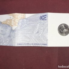 Monedas Juan Carlos I: ESPAÑA 1999. CARTERA DE 2000 PESETAS DE PLATA HOMENAJE A SANTIAGO. Lote 195514002