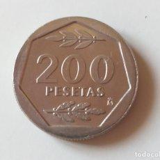 Monedas Juan Carlos I: MONEDA DE ESPAÑA. JUAN CARLOS I. AÑO 1986. 200 PESETAS. SIN CIRCULAR.. Lote 195526445