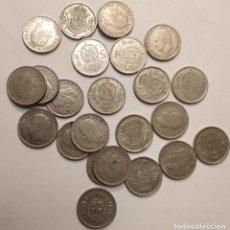 Monedas Juan Carlos I: 23 MONEDAS DE 5 PESETAS, REY JUAN CARLOS I, VARIOS AÑOS. Lote 196026443