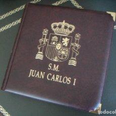 Monedas Juan Carlos I: COLECCIÓN PESETAS 1975-1995 JUAN CARLOS I (ERROR MUNDIAL, E.87, CAPITAL CULTURAL...) EN ÁLBUM PARDO!. Lote 196280652