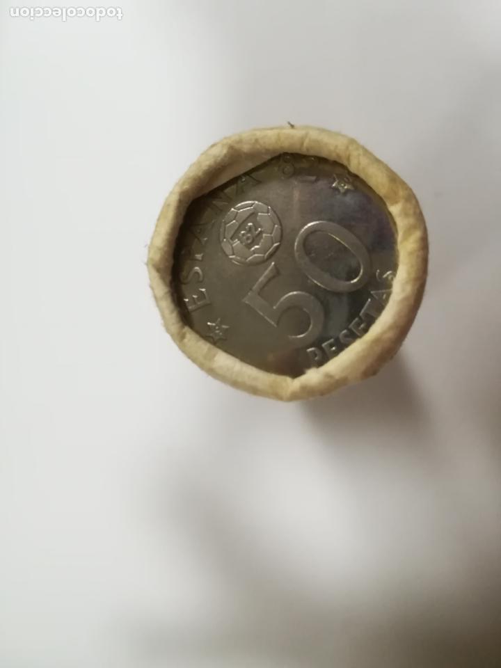 Monedas Juan Carlos I: CARTUCHO. 40 MONEDAS DE 50 PESETAS. 1980. MUNDIAL 82. JUAN CARLOS I. VER - Foto 2 - 196574841
