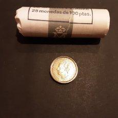 Monedas Juan Carlos I: MONEDA 100 PESETAS 1995 JUAN CARLOS I S/C SACADA DE CARTUCHO. ESPAÑA. Lote 255306940