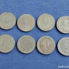 Monedas Juan Carlos I: 8 MONEDAS 200 PESETAS (1990, 1991, 1992, 1992, 1993, 1994, 1996, 1997). Lote 197452338