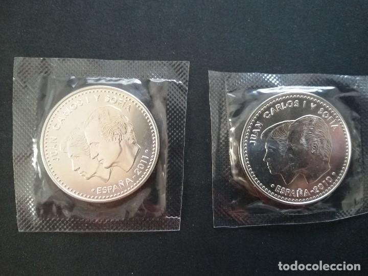 Monedas Juan Carlos I: LOTE DE 2 MONEDAS DE 20E PLATA JUAN CARLOS I - Foto 2 - 198048846
