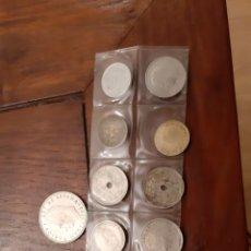Monedas Juan Carlos I: 13 MONEDAS ESPAÑA, ESTADO ESPAÑOL Y JUAN CARLOS I.TODAS DIFERENTES.. Lote 198060240