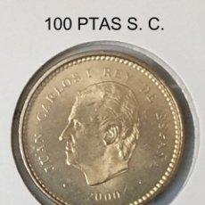 Monedas Juan Carlos I: ESPAÑA 100 PESETAS JUAN CARLOS I AÑO 2000 S. C. LIS HACIA ARRIBA. Lote 198428930