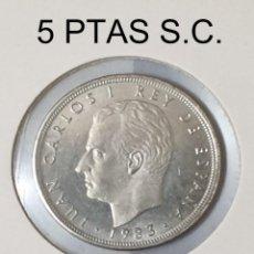Monedas Juan Carlos I: ESPAÑA 5 PESETAS J. C. I. 1993 WCC:KM823 SIN CIRCULAR. Lote 198456366