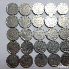 Monedas Juan Carlos I: LOTE 25 MONEDAS 200 PESETAS LA DE LAS FOTOS. Lote 198652761
