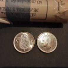 Monedas Juan Carlos I: LOTE 10 MONEDAS 5 PESETAS 1975 ESTRELLA 78 JUAN CARLOS I SIN CIRCULAR SACADAS DE CARTUCHO. Lote 198838592