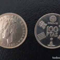 Monedas Juan Carlos I: 100 PESETAS (FIFA WORLD CUP OF SPAIN 82) 1980. Lote 199124986