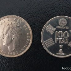Monedas Juan Carlos I: 100 PESETAS (FIFA WORLD CUP OF SPAIN 82) 1980. Lote 199125202