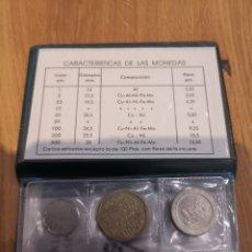 Monedas Juan Carlos I: CARTERA DE SERIE NUMISMATICA. Lote 201774417