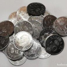 Monedas Juan Carlos I: JUAN CARLOS I. 50 CÉNTIMOS. ALUMINIO. 1980. LOTE DE 30 MONEDAS.. Lote 201833447