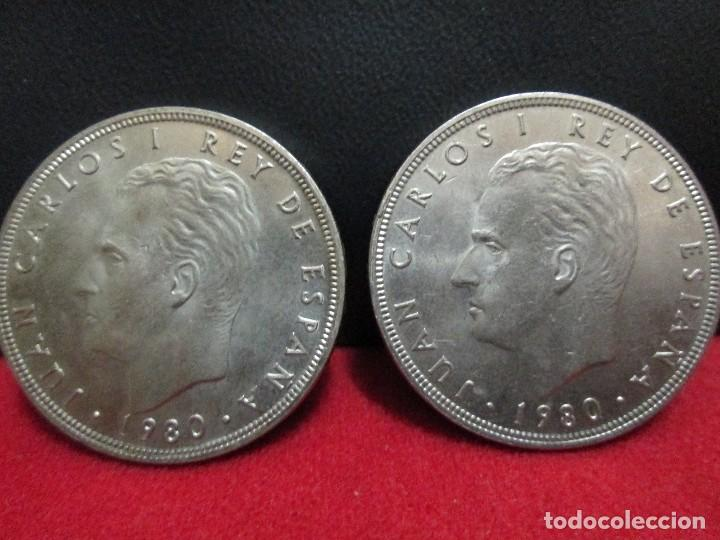 Monedas Juan Carlos I: 2 MONEDAS 100 PESETAS 1980 ESTRELLA 80 MUNDIAL ESPAÑA 82 - Foto 2 - 202683962