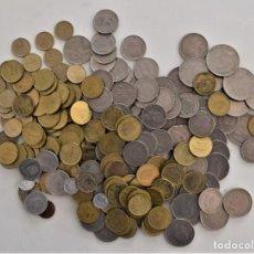 Monedas Juan Carlos I: 1100 GRAMOS MONEDAS VARIADAS PARA ESTUDIO REY JUAN CARLOS - 1, 5, 25 Y 50 PESETAS. Lote 202857758