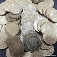 Monedas Juan Carlos I: LOTE DE 70 MONEDAS. CUPRONÍQUEL. 5 PESETAS. Lote 202974018