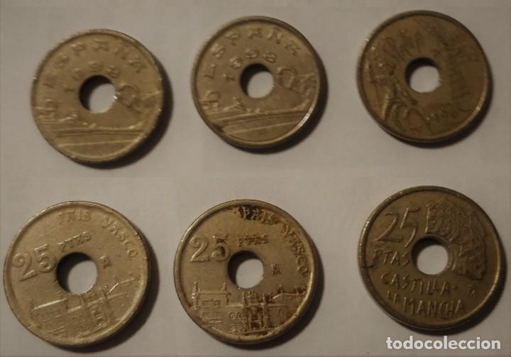 3 MONEDAS DE 2E PESETAS, 1998 (Numismática - España Modernas y Contemporáneas - Juan Carlos I)