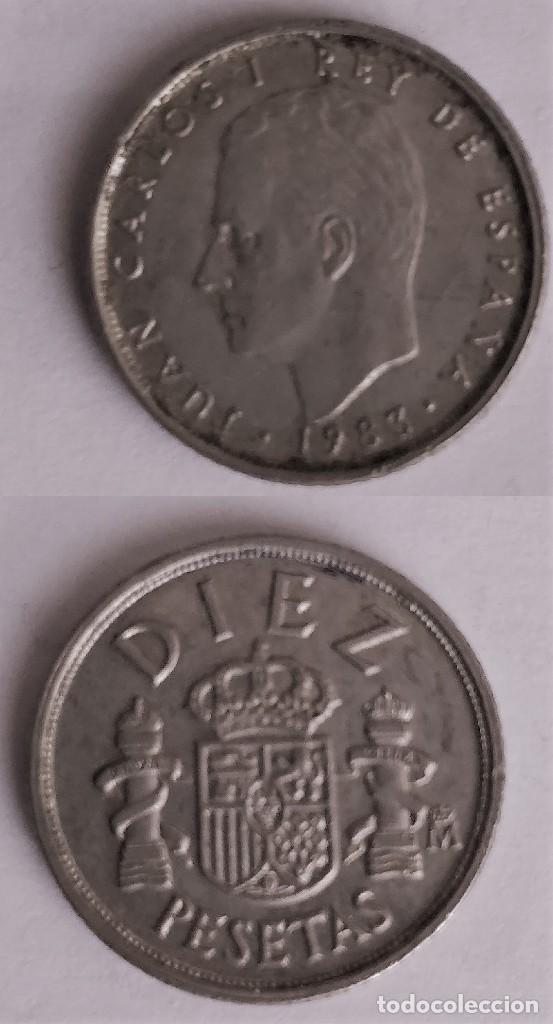 MONEDA DE 10 PESETAS REY JUAN CARLOS I, 1983 (Numismática - España Modernas y Contemporáneas - Juan Carlos I)