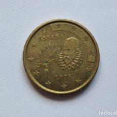 Monedas Juan Carlos I: 10 CENTIMOS ESPAÑA 2005 CERVANTES. Lote 203166295