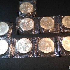 Monedas Juan Carlos I: 9 MONEDAS DE 12 EUROS, PLATA - JUAN CARLOS I Y SOFIA 2002. PRESIDENCIA DE LA UNIÓN EUROPEA S/C. Lote 203567815