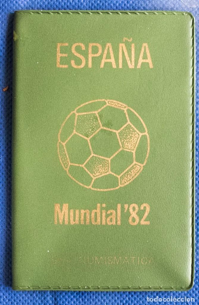 CARTERA OFICIAL DEL LA FNMT SERIE 1980 *82 J.CARLOS (Numismática - España Modernas y Contemporáneas - Juan Carlos I)