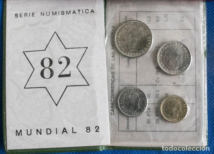 Monedas Juan Carlos I: CARTERA OFICIAL DEL LA FNMT SERIE 1980 *82 J.CARLOS - Foto 2 - 203942353