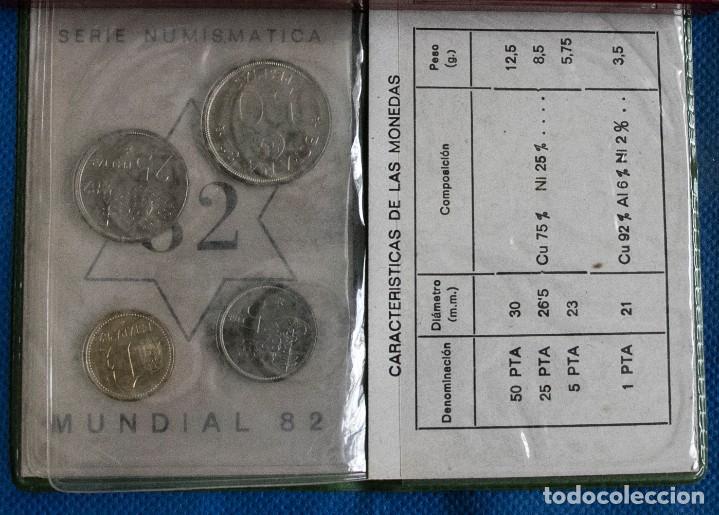 Monedas Juan Carlos I: CARTERA OFICIAL DEL LA FNMT SERIE 1980 *82 J.CARLOS - Foto 3 - 203942353