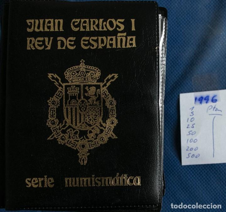 CARTERA OFICIAL DE LA FNMT DE 1996 J.CARLOS (Numismática - España Modernas y Contemporáneas - Juan Carlos I)