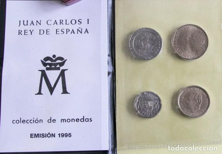 Monedas Juan Carlos I: CARTERA OFICIAL DE LA FNMT DE 1996 J.CARLOS - Foto 2 - 268771434